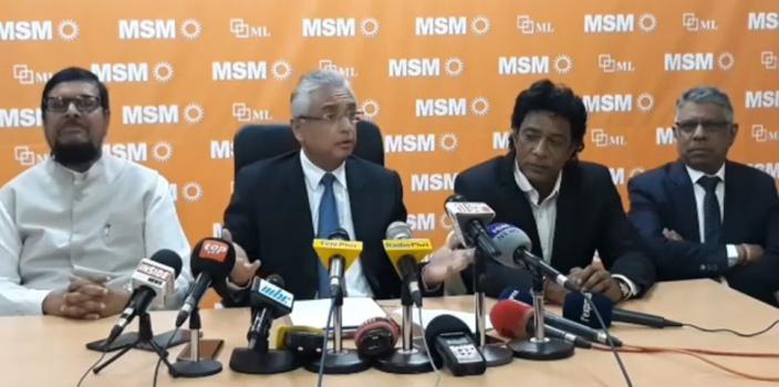 « Je n'ai jamais laissé tomber Vishnu Lutchmeenaraidoo », affirme Pravind Jugnauth