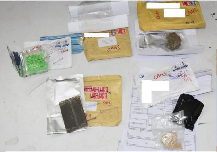 A la Poste Centrale : Rs 900 000 de drogues saisies