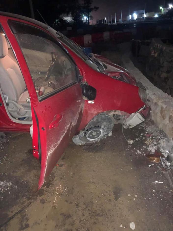 Accident à Riche Terre : Six blessés