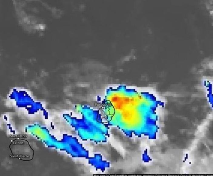 [Météo] Un avis de pluies torrentielles est en vigueur à Maurice