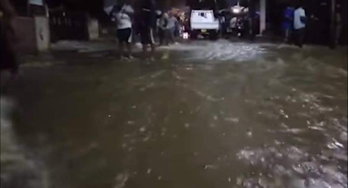 [Vidéo] Inondation à Fond-du-Sac : Des familles en cours d'évacuation