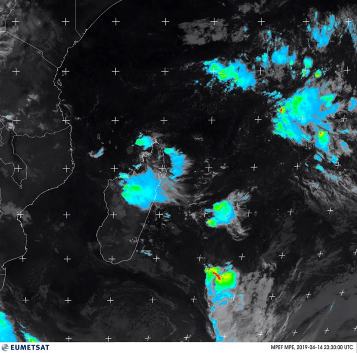 Aucun avis de fortes pluies ce lundi mais le temps toujours instable