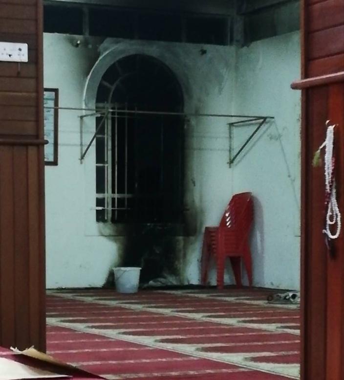 Rivière Citron : Acte de vandalisme visant une mosquée
