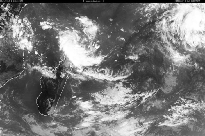 Mayotte est en  « Pré-alerte Cyclonique » à compter de ce lundi 22 avril