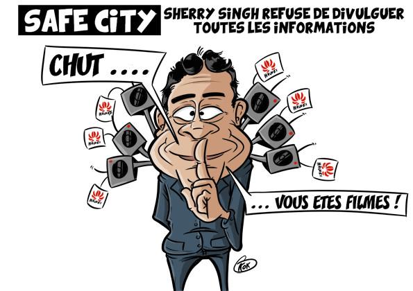 L'actualité vu par KOK : Projet Safe City, Sherry Singh refuse de divulguer toutes les informations