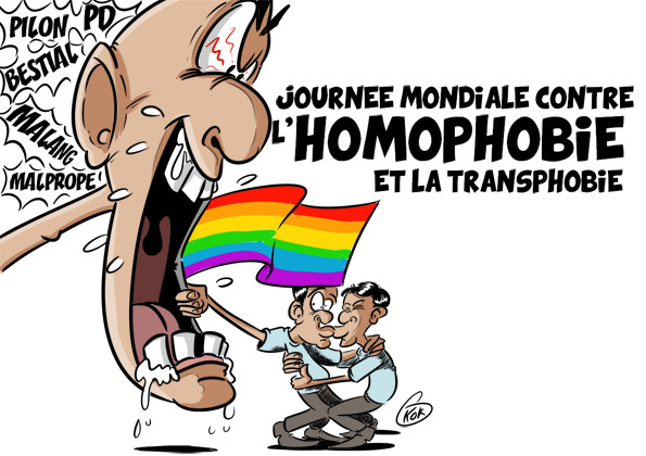 L'actualité vu par KOK : Journée mondiale contre l'homophobie et la transphobie
