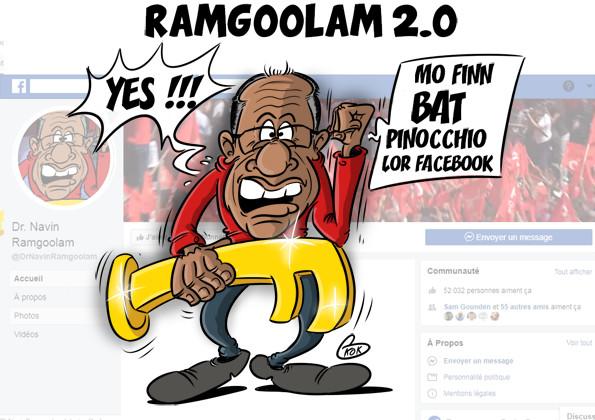 [KOK] Le dessin du jour : Ramgoolam 2.0