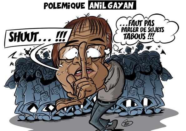 L'actualité vu par KOK : Polémique Anil Gayan