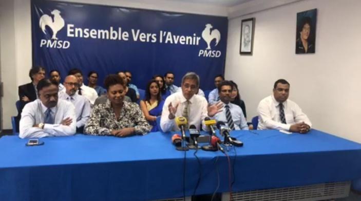 Le PMSD condamne l'expulsion de Shakeel Mohamed mais se prononce contre le boycott des séances parlementaires