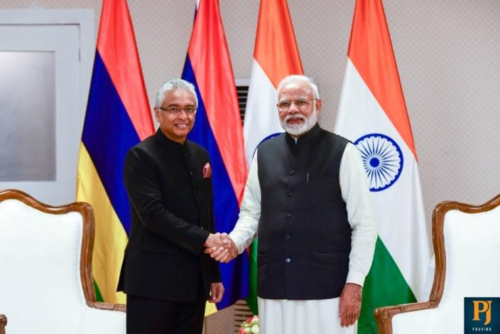 Pravind Jugnauth invité en Inde à la prestation de serment de Narendra Modi