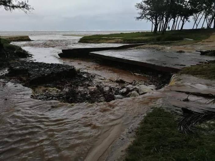 [Météo] Rodrigues sous les eaux