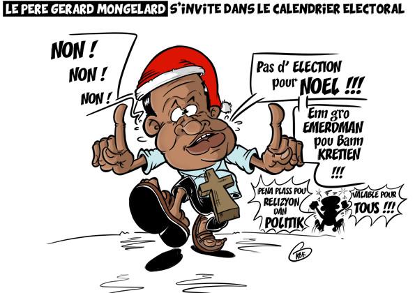 L'actualité vu par KOK : Le père Gérard Mongelard s'invite dans le calendrier électoral