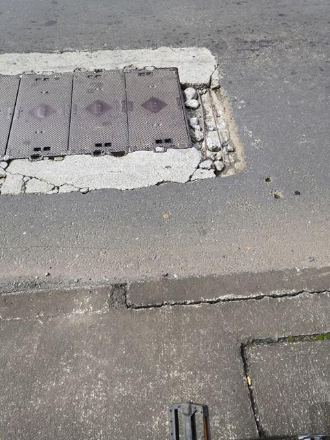 """Attention danger à Vacoas : Des """"bar feray"""" sur la route"""
