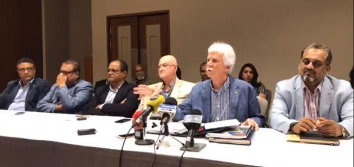 Bérenger revient sur l'éventuelle partielle, le budget et les Chagos