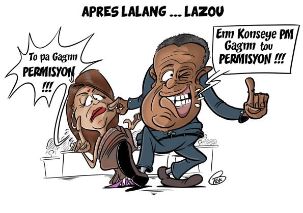 L'actualité vu par KOK : Après Lalangate...lazou