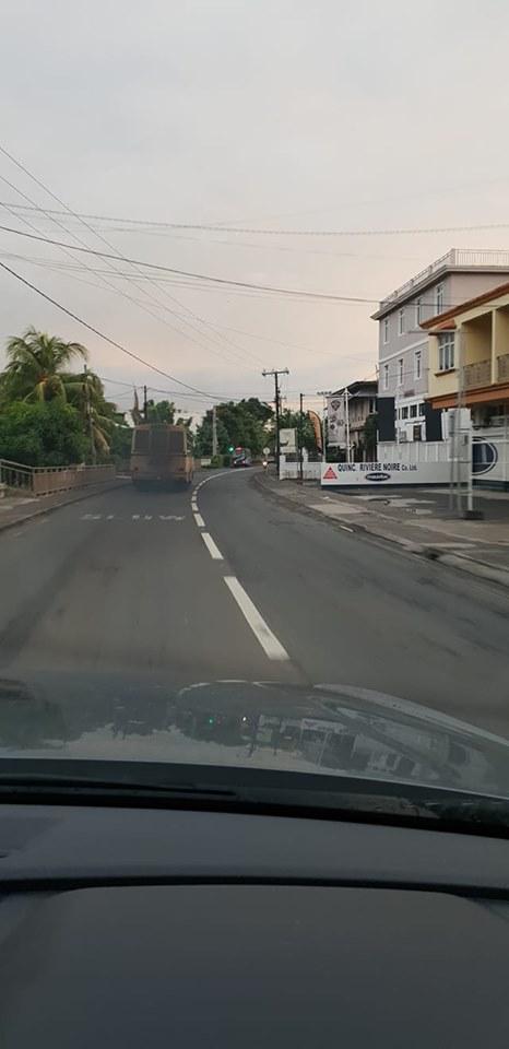 Autobus fumigènes sur les routes mauriciennes