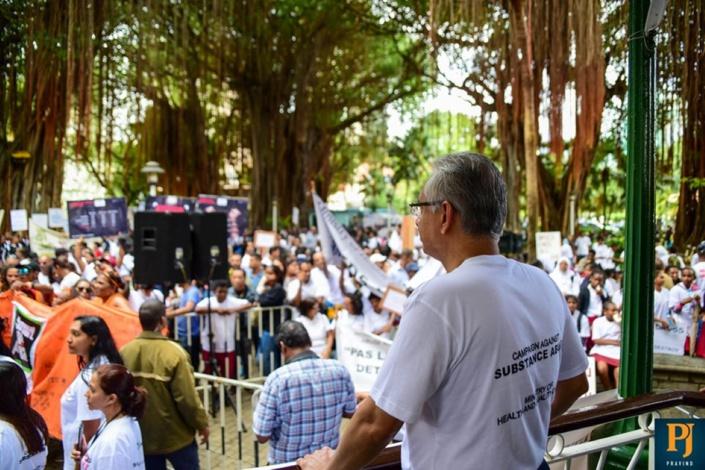 Pravind Jugnauth défend son bilan sur la lutte contre la drogue