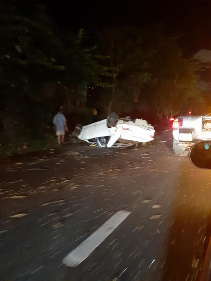 Grave accident sur l'autoroute à hauteur de Bois-Marchand
