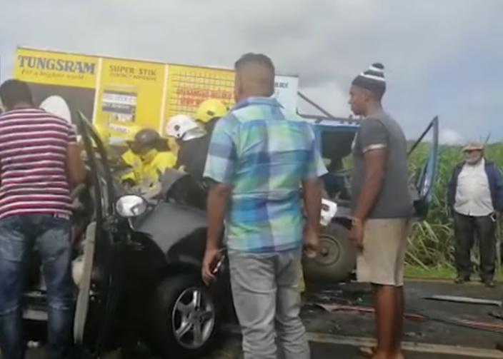 Une blessée grave dans un accident à Notre-Dame