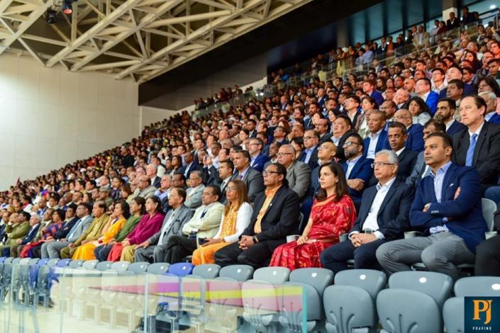 Le complexe sportif de Côte-d'Or, l'éléphant blanc au coût de Rs 4,7 milliards est enfin inauguré !