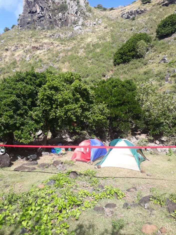 Trésor à Rodrigues : Les miltants du MIR menottés avec l'obligation d'enlever leurs tentes
