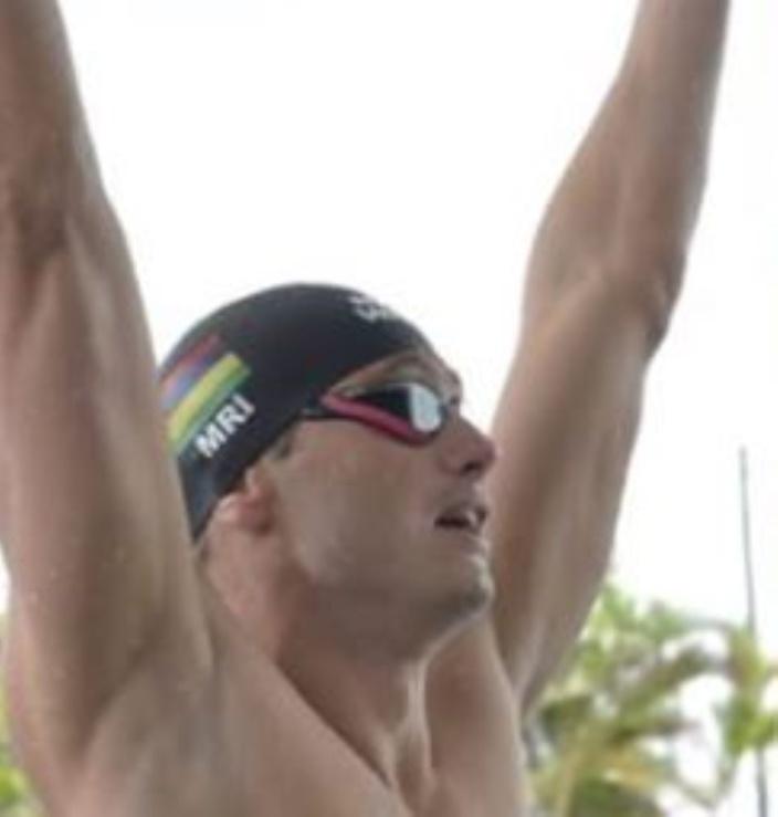 JIOI 2019 - Natation : Bradley Vincent remporte la médaille d'or au 100m nage libre