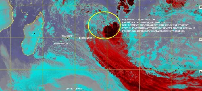 [Météo] Premier système tropical de la saison cyclonique 2019-2020... en plein mois de juillet !