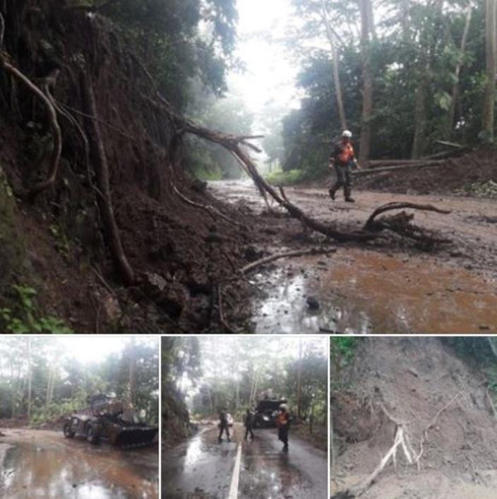 [Météo] Accumulations de boue dans différentes régions de l'île