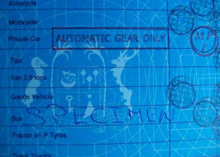 Un faux réseau de permis de conduire ?