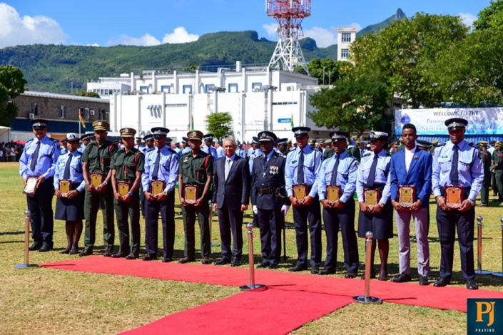 Ces policiers qui ont brillé aux Jeux des îles