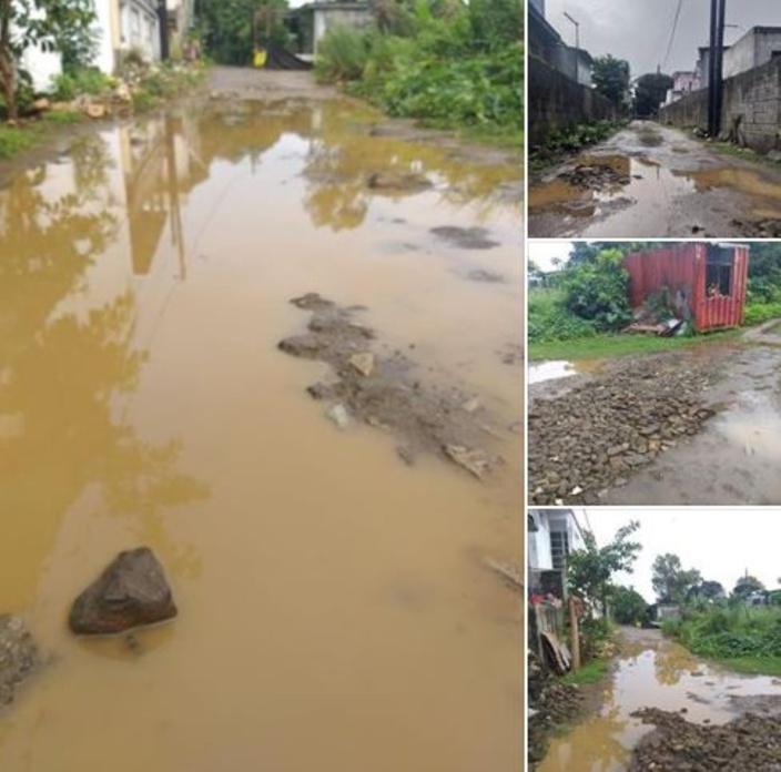 Rivière des Anguilles : Chemin impraticable à chaque goutte de pluies