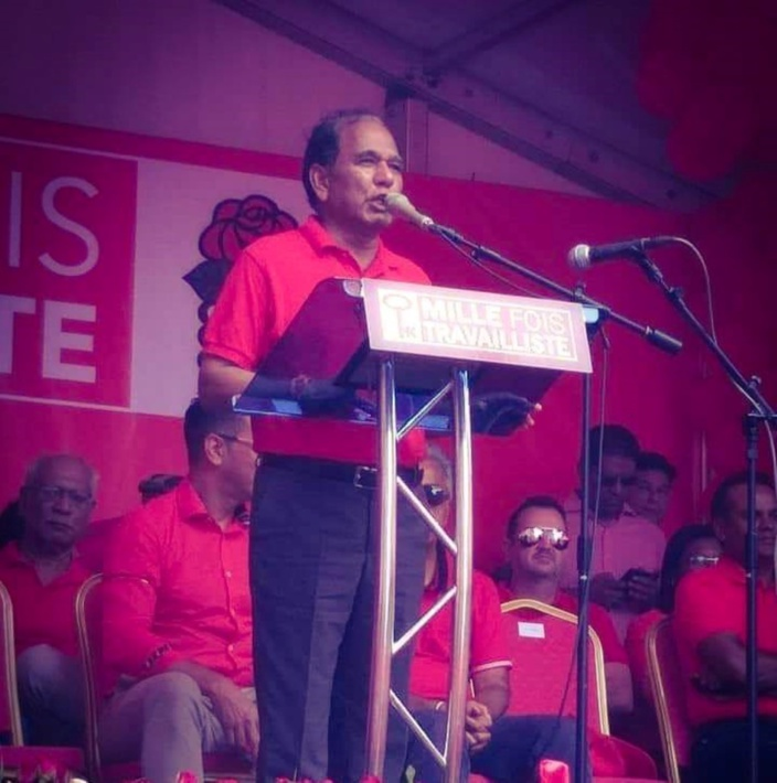 Anil Bachoo est le candidat du PTr à la partielle