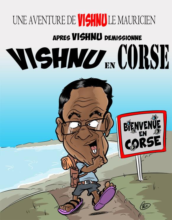 [KOK] Le dessin du jour : Vishnu en Corse