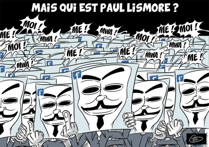 L'actualité vu par KOK : Qui est Paul Lismore ?