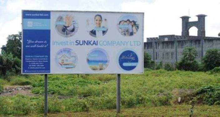Les souscripteurs des plans Sunkai dans la rue