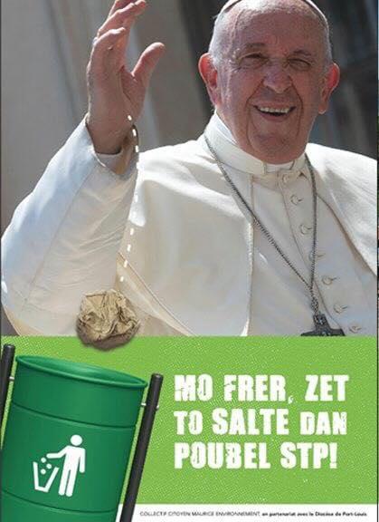 Visite du Pape à Maurice : Une campagne écologique sous fond de polémique