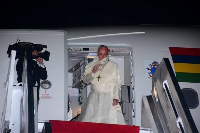 Le pape François a quitté l'île Maurice ce lundi soir