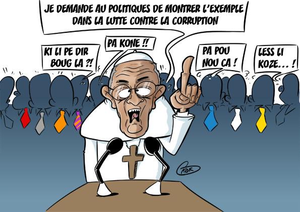 [KOK] Le dessin du jour : Discours du pape