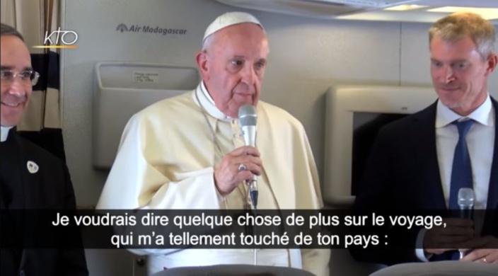 ▶️ Le pape François revient sur une anecdote lors de sa visite à l'île Maurice