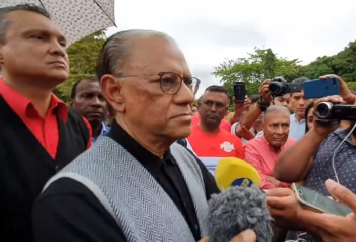 Ramgoolam affirme si le PTr retourne au pouvoir « nou pou kapav vive, anfin respire, libre, vive en paix dan linite»