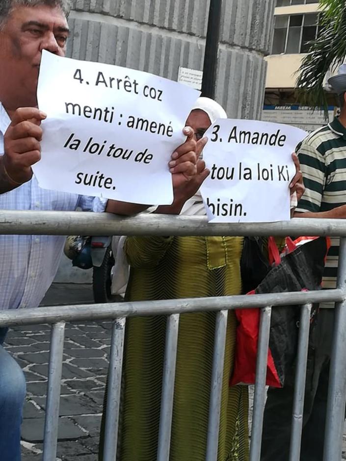 Land's Court : Clency Harmon entame sa deuxième grève de la faim