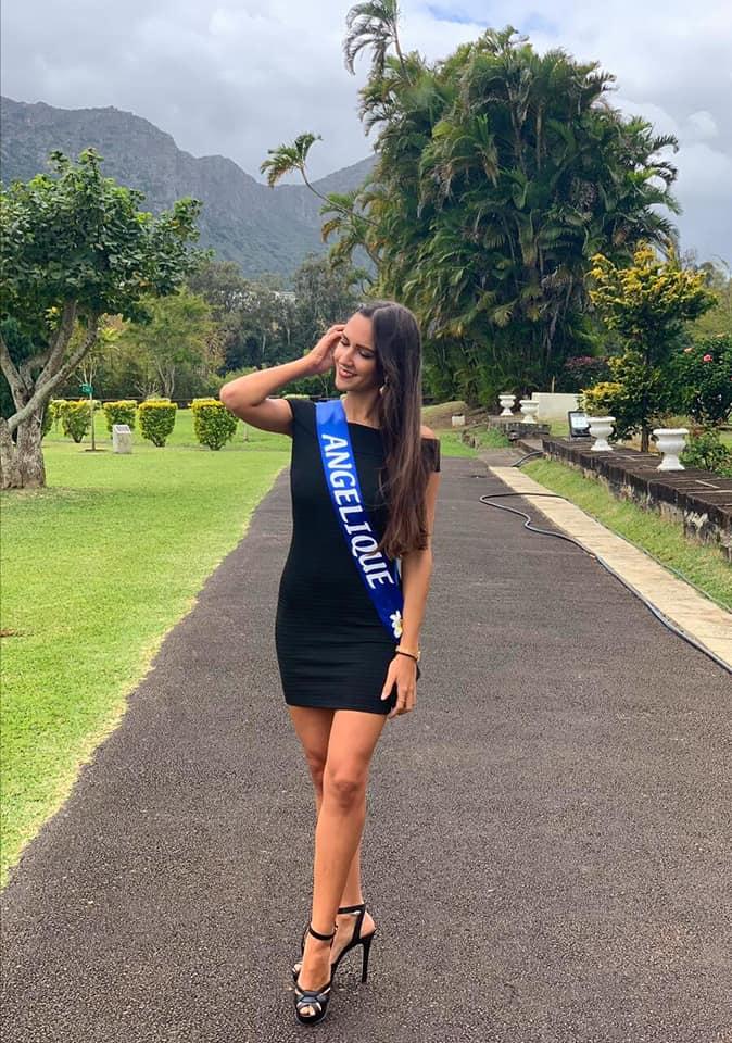 La Miss Mauritius National Pageant 2019-2020 est Angélique Sanson