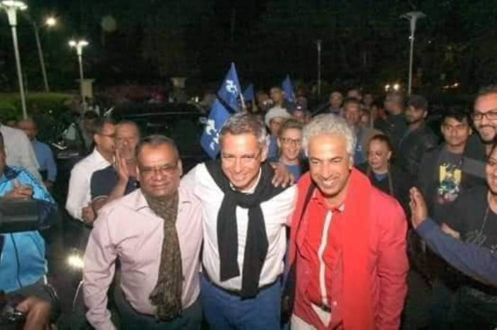 "[Législatives 2019]  Xavier Duval : «Tania Diolle, li paret ene bon tifi, me li fer kampagn komunal infect"""