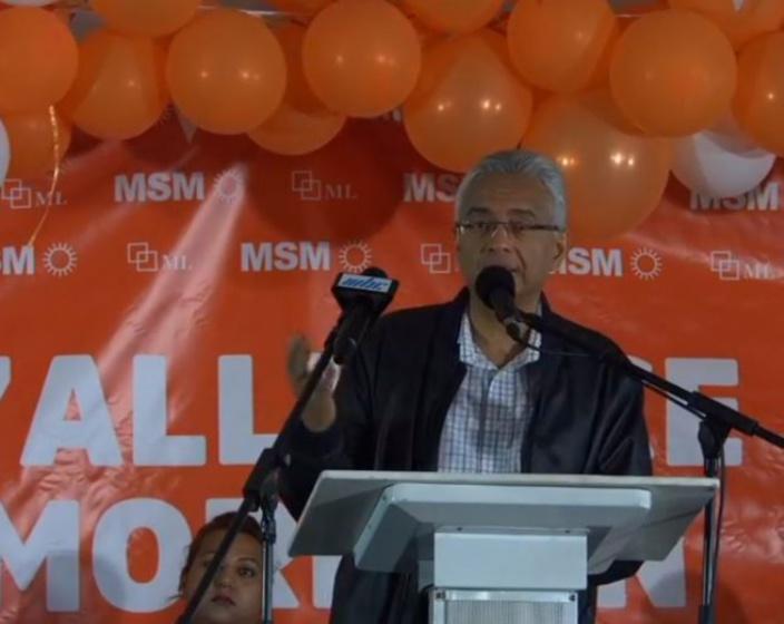 [Chagos] Pravind Jugnauth : « Nou inn dir Anglais ziska novam sa lané la lev paké alé»
