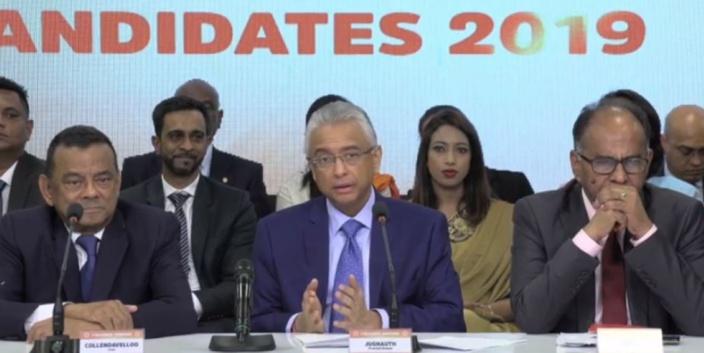 [Législatives 2019] La liste officielle des candidats de l'Alliance Morisien