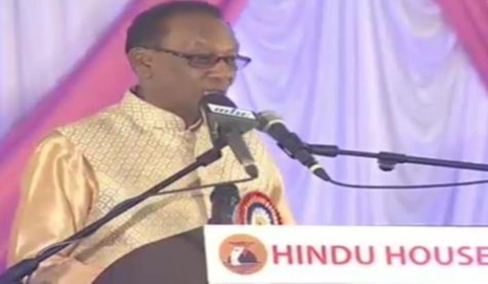 Virendra Ramdhun, président de la Hindu House est décédé