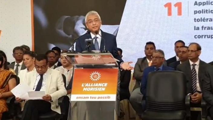 Les « mesures phares » de Pravind Jugnauth et l'Alliance Morisien