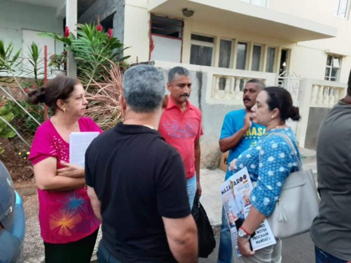 Dorine Chukowry porte plainte contre Veda Baloomoody