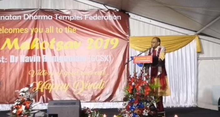 Navin Ramgoolam évoque la loi du karma : «Kan ou azir avek move lintansion, kan ou fouy trou pou ou kamarad, oumem ki tom ladan.»