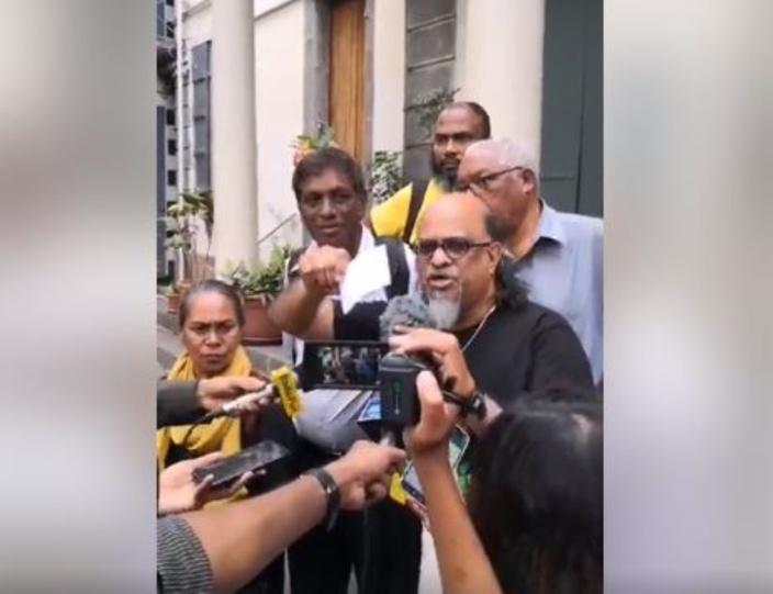 ▶️ Ashok Subron : «Pravind Jugnauth c'est enn menteur, enn couillonner, mo pou assuré que le peuple et l'Histoire condamne li»